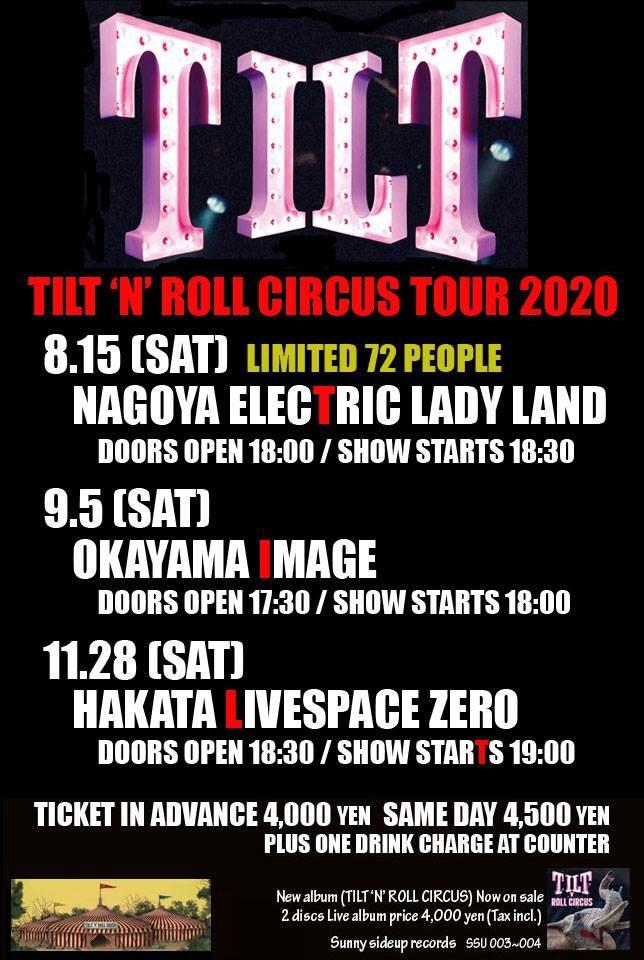 TILT 'N' ROLL CIRCUS TOUR 2020