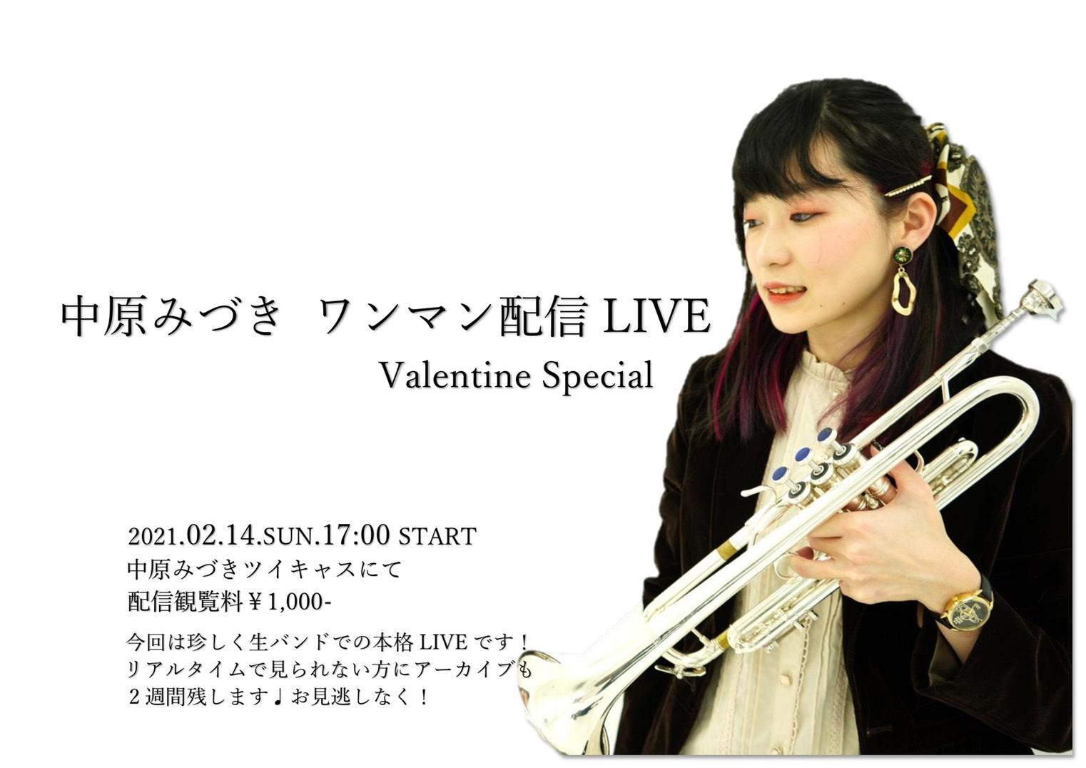 中原みづき ワンマン配信LIVE Valentine Special